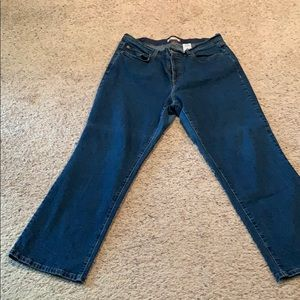 Levi's 550 relaxed boot cut.